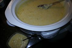 Crockpot Cheesy Southern Grits. Photo by Chef #1803168798