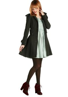I effing love dress coats.  I just wish they weren't so expensive!