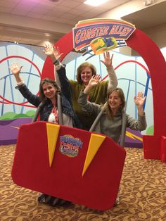 Vbs decorating ideas and tips roller coaster amusement for Amusement park decoration ideas