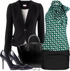 """""""Abstract Top for Work"""" by styleofe on Polyvore"""