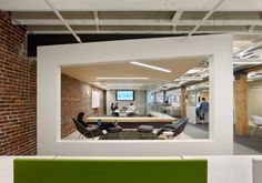 Gorgeous use of white, color & texture in this interior. |  Zendesk   San Francisco Headquarters