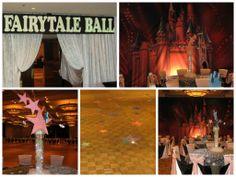 Fairytale Ball Prom Décor by www.idealpartydecorators.com