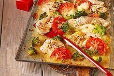 Putenschnitzel mit Brokkoli vom Blech, ein tolles Rezept aus der Kategorie Überbacken. Bewertungen: 16. Durchschnitt: Ø 3,8.