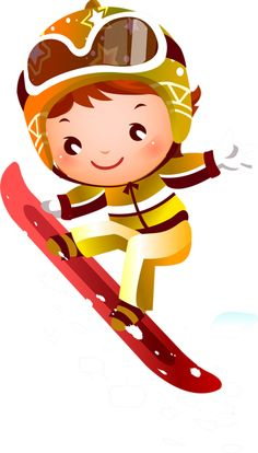 View album on Yandex. Cartoon People, Cartoon Kids, Theme Sport, Sports Clips, Kids Skis, Winter Activities For Kids, Olympia, Clip Art, 1st Christmas