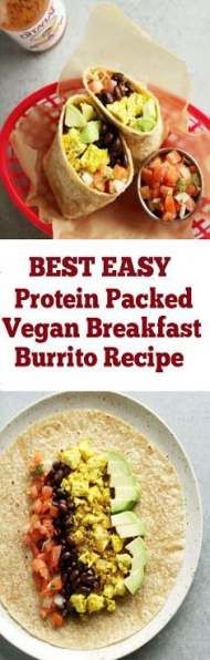 66 trendy Ideas for breakfast burritos easy Best Breakfast Recipes, Brunch Recipes, Easy Dinner Recipes, Easy Meals, Breakfast Ideas, Paleo Dinner, Drink Recipes, Vegetarian Protein, Vegetarian Breakfast