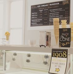 Welcome to MainStreet 1908  we sell ice cream, coffee & tea in Camrose, Alberta