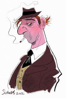 gangster character design by Bill Schwab