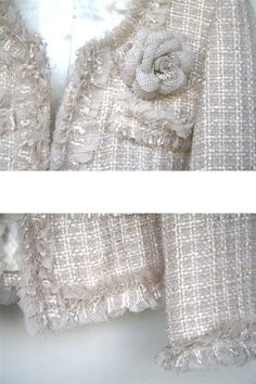Chanel Beauty, Chanel Fashion, Couture Details, Fashion Details, Chanel Style Jacket, Chanel Couture, Couture Sewing, Chanel Spring, Vintage Chanel