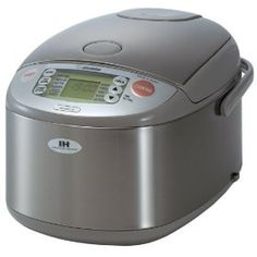 Zojirushi NP-HBC18 10-Cup Rice Cooker and Warmer with Induction Heating System, Stainless Steel $285.57