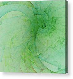 Green spiral angles by Mariia Kalinichenko. #MariiaKalinichenkoFineArtPhotography #InreriorDesign #ArtForPrint #AbstractArt #Green