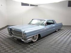 Cadillac : DeVille BAGGED AND STUNNING! V8! 1964 C - http://www.legendaryfinds.com/cadillac-deville-bagged-and-stunning-v8-1964-c/