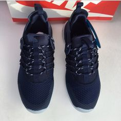 "NWT NIKE FREE VIRITOUS Nike Women's Running Shoes. ""The Nike Free Viritous boasts a flexible, lightweight and breathable synthetic upper and a complimenting heel cage for added support and stability which comprises the ideal platform for running activities."" Brand new with box. Size 7.5. Color: navy. Discount on shipping upon request. Nike Shoes Athletic Shoes"