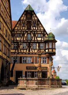 Rothenburg ~ Middle Franconia ~ Bavaria ~ Germany ~ Saint George's Fountain