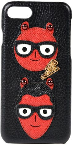 Dolce & Gabbana Devil`s Patch Iphone 7 Cover