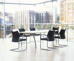 Zenith Interiors: Trillipse Cantilever Armchair