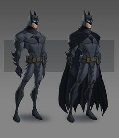 Beware The Batman costume design