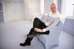 Jean Paul Gaultier in stripes