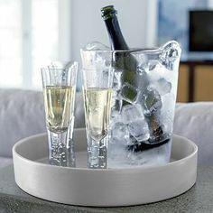 Scissor Cut Wine and Champagne Cooler I Crateandbarrel.com