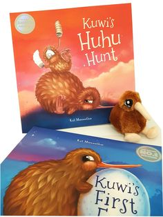 Kuwi is a young and confused kiwi who has found herself alone with her newly laid egg.This Gift Set includes 2 books and a little kiwi toy. New Baby Gifts, Great Gifts, Book Gifts, Kiwi, New Baby Products, Amazing Gifts