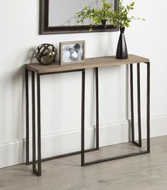 @ Price Small Slim Console Table By Union Rustic Slim Console Table, Small Console Tables, Sofa Tables, Entryway Tables, Hallway Console Table, Entryway Decor, Small Hall Table, Accent Furniture, Living Room Furniture