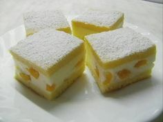 Barackos-tejfölös sütemény Eastern European Recipes, Torte Cake, Hungarian Recipes, Sponge Cake, Winter Food, Vitamins, Cheesecake, Food And Drink, Peach