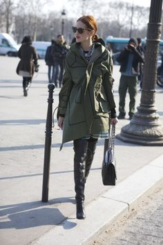 Military style coat |Pinned from PinTo for iPad|