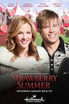 Strawberry Summer This movie >>>> Romantic Comedy Movies, Romance Movies, Hallmark Christmas Movies, Hallmark Movies, Holiday Movies, Películas Hallmark, Famous Country Singers, Hallmark Movie Channel, Trevor Donovan
