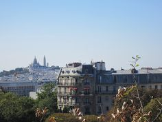 Learning how to NOT do work- and take photos. View from Buttes Chaument of Sacre Coeur.