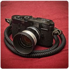 Leica M2 Black (re)Paint w/ Canon 50/1.4 LTM