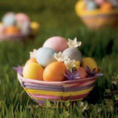 Natural egg dyes for easter