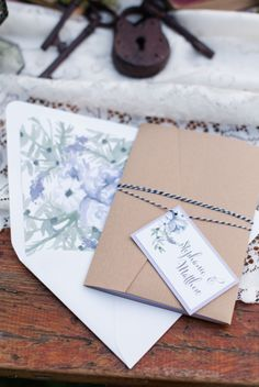 Rustic chic stationery -- how pretty is that floral envelope liner? Wedding Stationery Inspiration, Wedding Inspiration, Wedding Ideas, Invitation Paper, Envelope Liners, Rustic Chic, Letterpress, Equality, Wedding Invitations