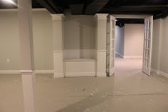 I have waited so long to make this post, and even though we are not done yet, I just have to share our progress. Finishing our basement...