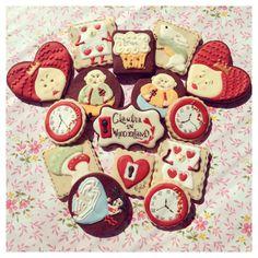 Alice in Wonderland Cookies Set