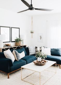 modern boho living room decor with blue velvet sofa&; modern boho living room decor with blue velvet sofa&; Home Garden by Mathis Clarke Living Room Designs modern […] boho living room Boho Living Room, Cozy Living Rooms, Living Room Furniture, Home Furniture, Rustic Furniture, Tiny Living, Furniture Ideas, Antique Furniture, Apartment Living