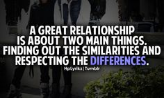 This goes for any relationship!!!