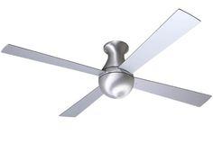 "Ball Hugger Fan W/ Out Light by Modern Fan Co. | Lightology   42"" Diam. is the smallest in this style"