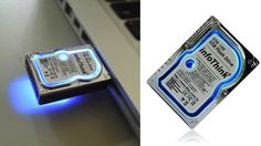 It thinks it's a hard drive  http://gizmodo.com/5892567/awww-this-adorable-little-flash-drive-thinks-its-a-hard-drive