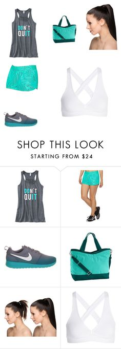 """1"" by rylie-smiley-grissetti ❤ liked on Polyvore featuring Puma, NIKE, The North Face, Rapunzel Of Sweden and Bodyism"