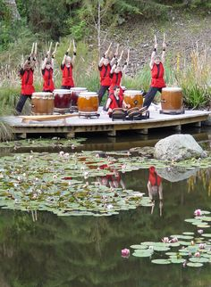How to Play Taiko Drums -- via wikiHow.com The art of taiko drumming originated in Japan over 1600 years ago and has since spread to all corners of the world