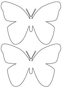 butterfly (diy butterfly template)
