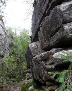 The most famous megaliths of Russia (50 photos) See how smooth side of megaliths as if cut down.