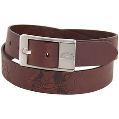 Oklahoma State Cowboys Brandish Leather Belt - Brown