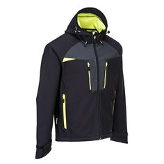 Softshell elástico DX4 Softshell, Hooded Jacket, Athletic, Sports, Jackets, Outdoor, Fashion, Work Wear, Clothes Shops