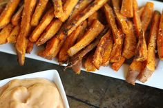 Easy, crispy oven baked sweet potato fries you can whip up at home without a deep frier!