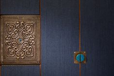 Custom designed panel and handles at Suite New Chinese, Chinese Style, Wall Patterns, Textures Patterns, Chinese Element, Chinese Furniture, Sanya, Indochine, Hotel Interiors