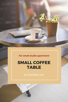 Looking for beautiful small coffee tables for your studio apartment? Please come and experience these 19 best and cute coffee tables that work for small space Home Organization Hacks, Organizing Your Home, Small Coffee Table, Coffee Tables, Living Room Accents, Living Room Decor, Home Decor Sites, Curtain Styles, Small Studio