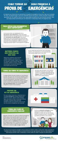 Já pensou no impacto que uma inundação em sua casa pode ter na gestão das suas finanças? Saiba como pode ter as suas finanças pessoais à prova de qualquer imprevisto.