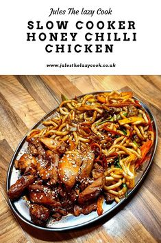 Ooooh yes looking for an easy tasty meal lokk no further and slimming world friendly Slow Cooker Slimming World, Slimming World Dinners, Slimming World Chicken Recipes, Slimming World Diet, Slimming Eats, Slimming Recipes, Slimming World Chilli, Slimming World Fakeaway, Slow Cooking