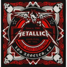 Metallica Seek & Destroy Bandana