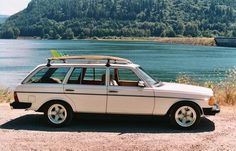 1985 Mercedes Wagon....I had an '84 I had to sell. She was my car soul-mate and I miss her dearly. :)